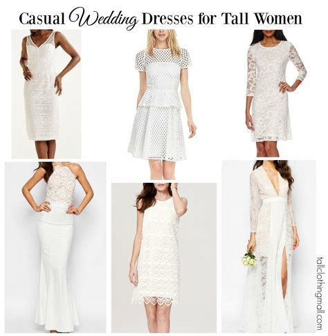 Casual Wedding Dresses for Tall Women   Tall Clothing Mall