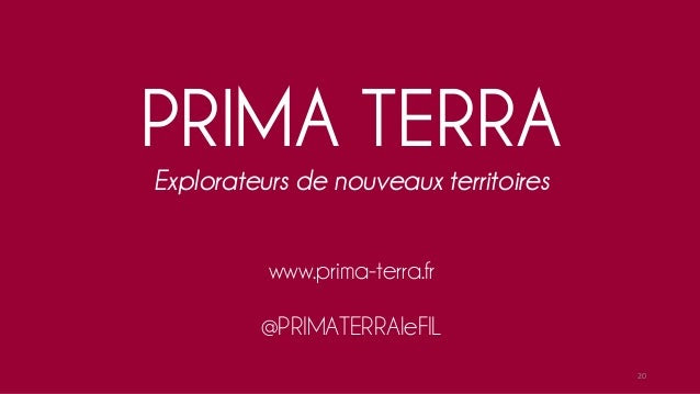 Un blog et un réseau co-animés par PRIMA TERRA