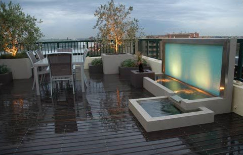 Modern Outdoors - Rooftop Terraces | Trendir