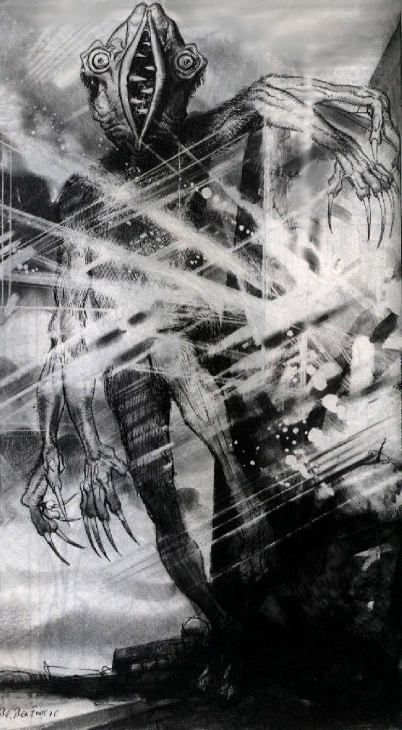 Josep M. Beá - Lovecraft Monster Gallery - 11