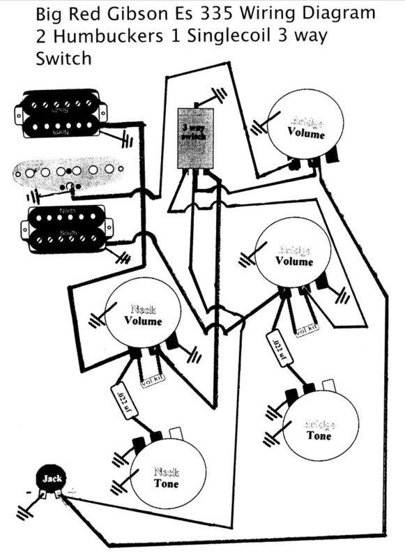 Wiring Diagram For Gibson E 335