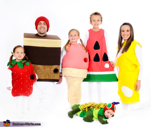 Very Hungy Caterpillar Costume Idea