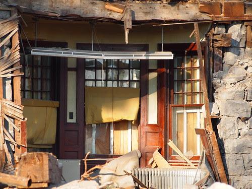 Demolition of Brownhurst Mansion in Kirkwood, MO_PB040455