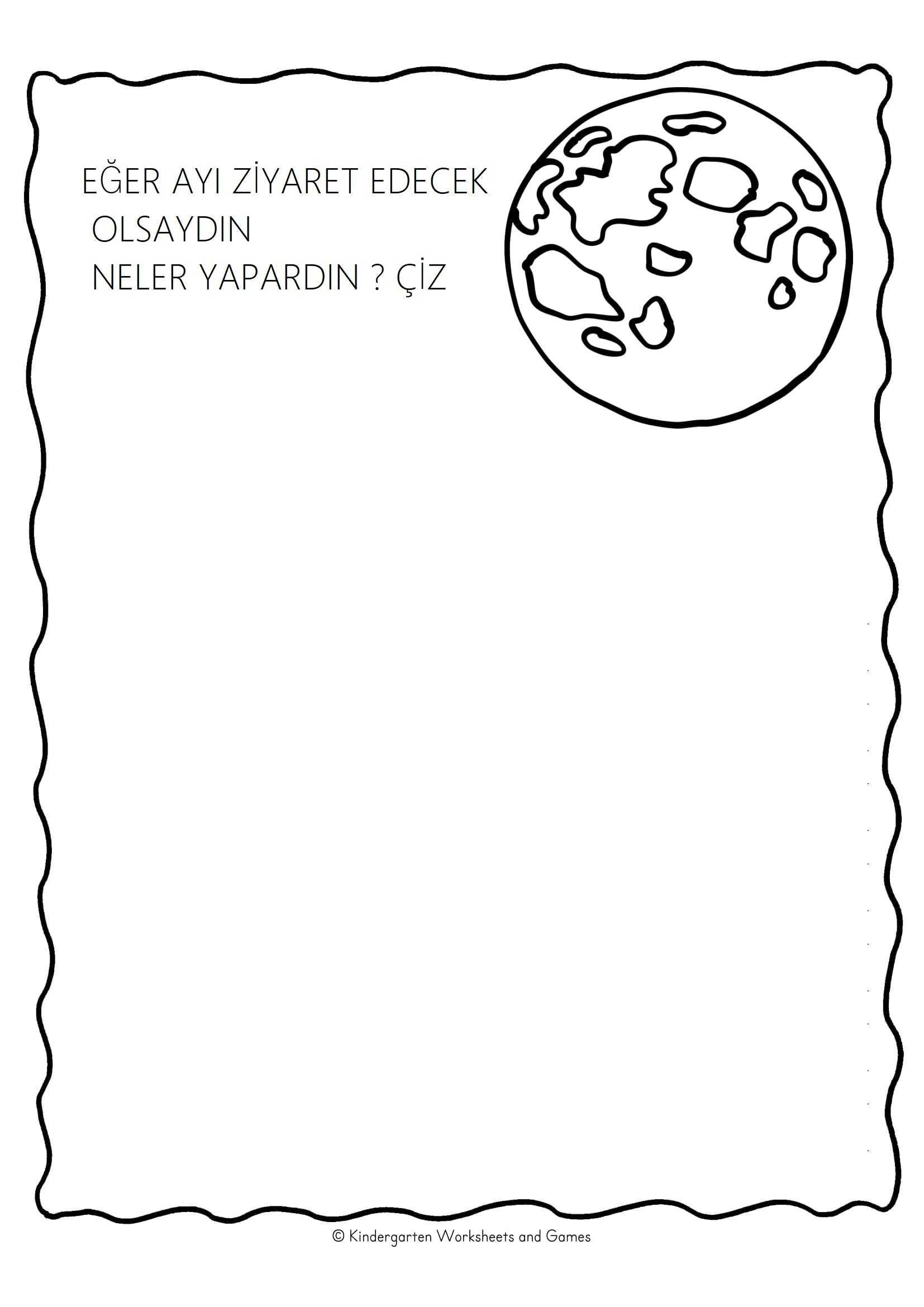 Okul Oncesi Ayin Evreleri Calisma Sayfasi 10 Okul öncesi