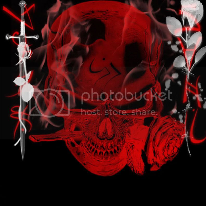 Skulls With Flames Graphics And Comments