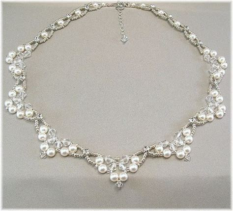 Bridal statement necklaces, Wedding and Rhinestones on