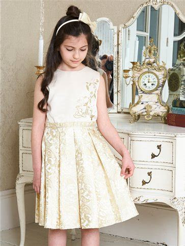 Belle Party Dress with Headband   Toddler and Child