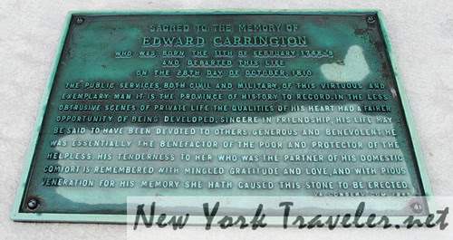 Edward Carrington gravesite 2