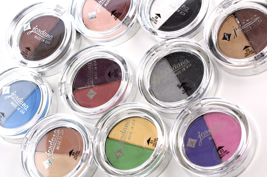 Jordana Cosmetics Color Effects Powder Eyeshadow Duos: Makeup and