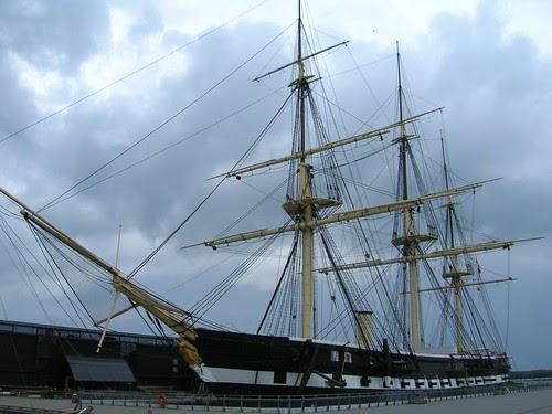 Navy Ship  Danish Sail Frigate Jylland