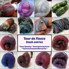 Tour de Fleece 2013 entries