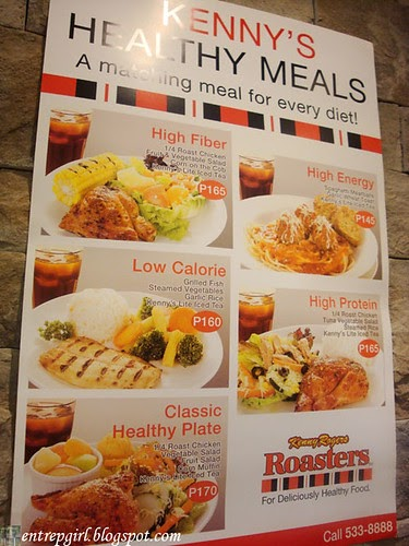 Kenny Roger's Healthy Meals