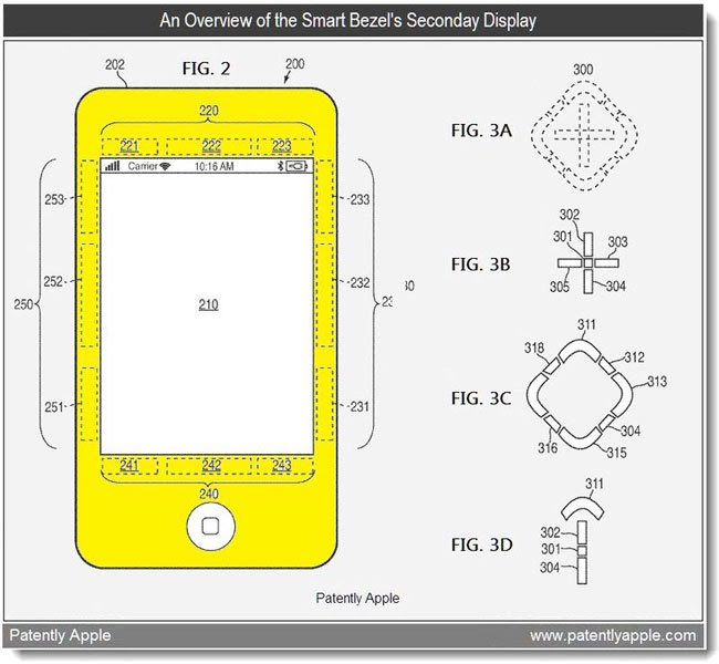apple smart bezel patent 1
