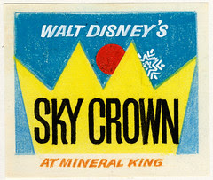 "Walt Disney's ""Sky Crown"" Logo 3"
