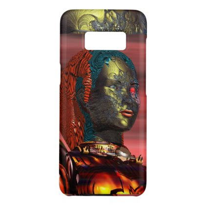 ARES /CYBORG PORTRAIT IN SUNSET Science Fiction Case-Mate Samsung Galaxy S8 Case