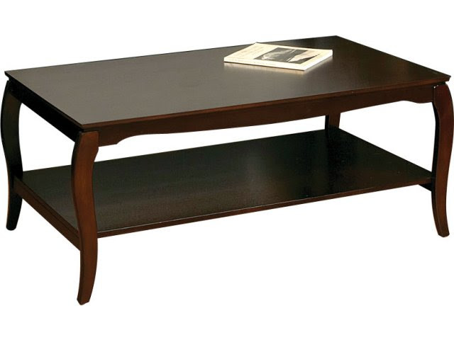 """Coffee Table with Shelf 45.5 x 26"""", Reception Area Tables"""