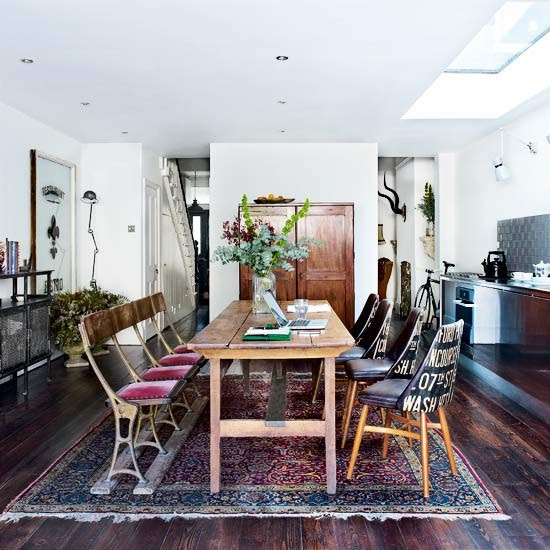 Kitchen | Take a tour around a London home filled with antique treasures | House tour | Livingetc | PHOTO GALLERY
