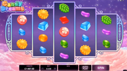 Ultimate candy dreams microgaming casino slots one