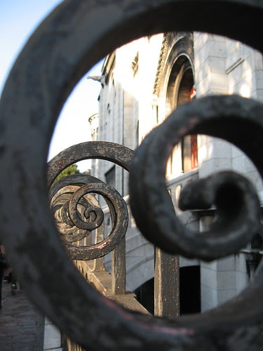 Wrought Iron Fence at Sacre Coeur