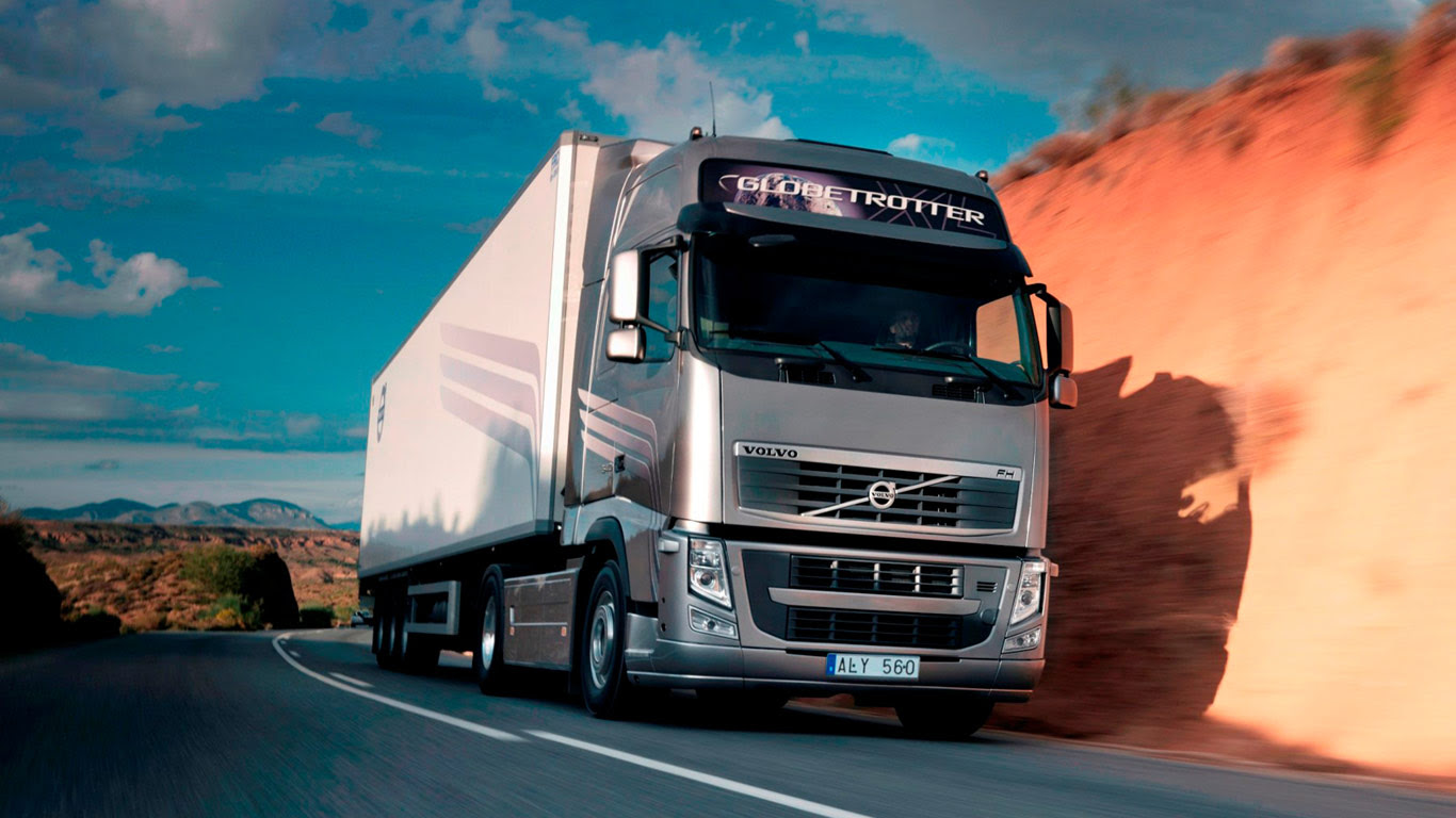 Volvo Truck Wallpaper  WallpaperSafari
