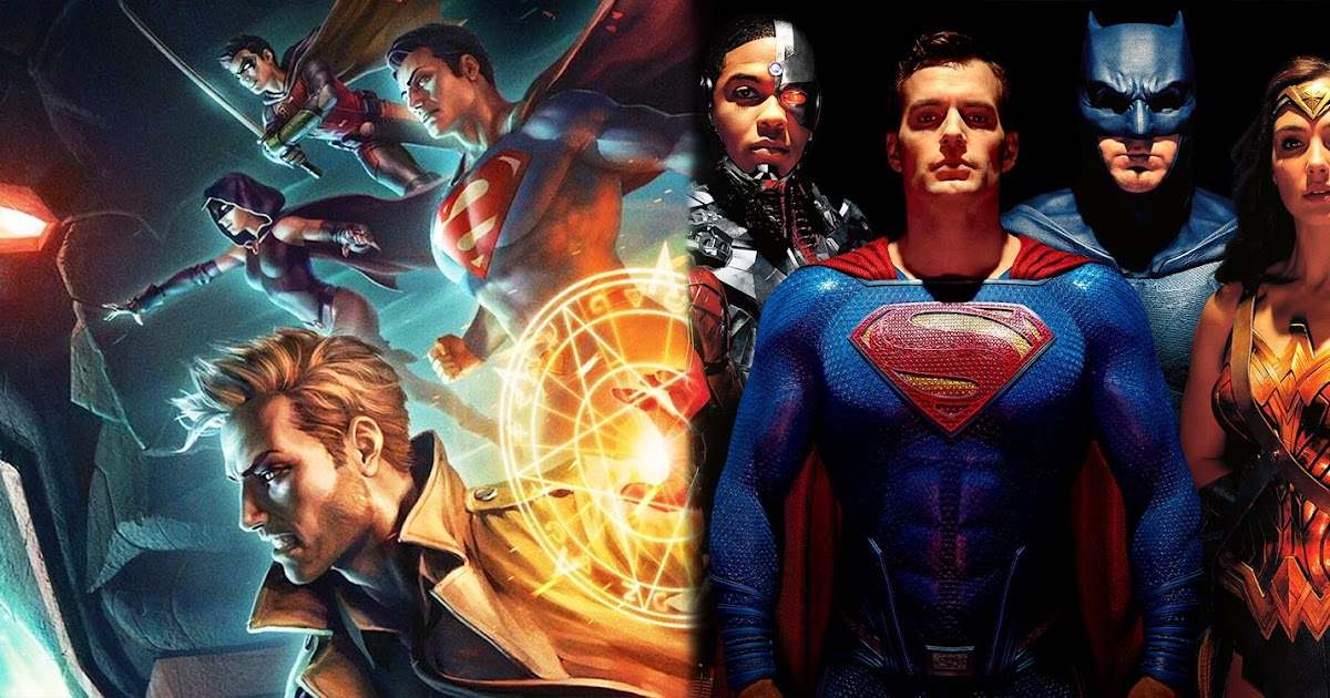 In360news Justice League Dark Everything Apokolips War Takes From Snyder S Dceu