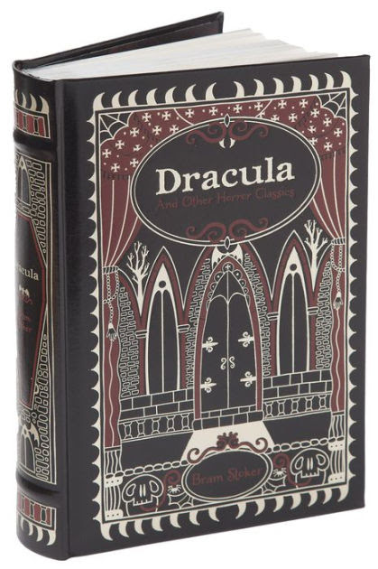 Image result for leather bound dracula