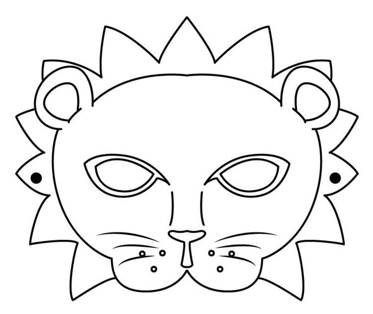 masken vorlagen zum ausdrucken einhorn  uradni napier