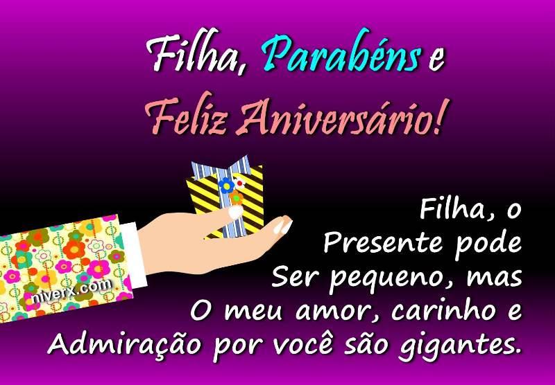 Tag Mensagem De Aniversario Para Filha Para Facebook