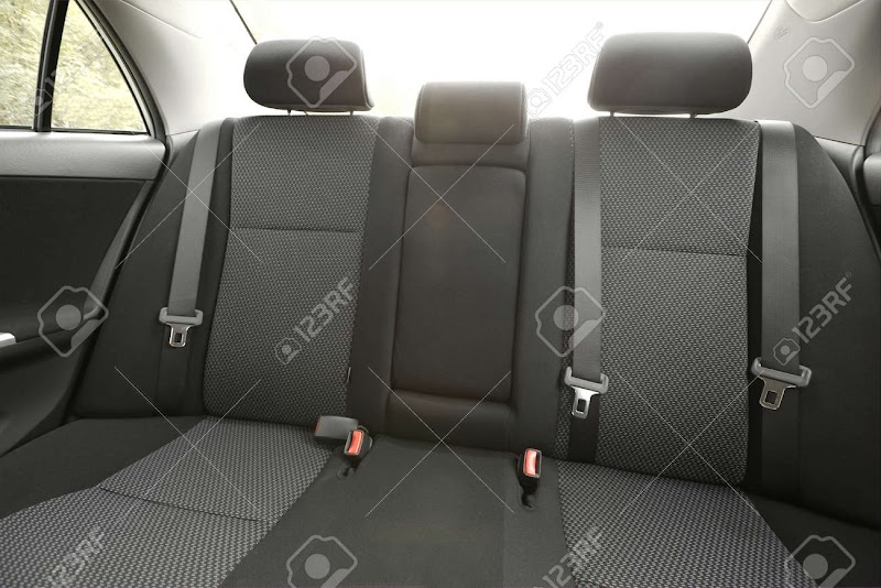 Car Interior Car Back Seat