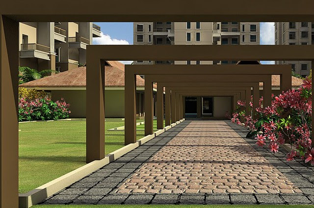 Om Developers' Tropica Blessed Township of 2 BHK & 3 BHK Flats in Ravet PCMC Pune 412 101 - 4