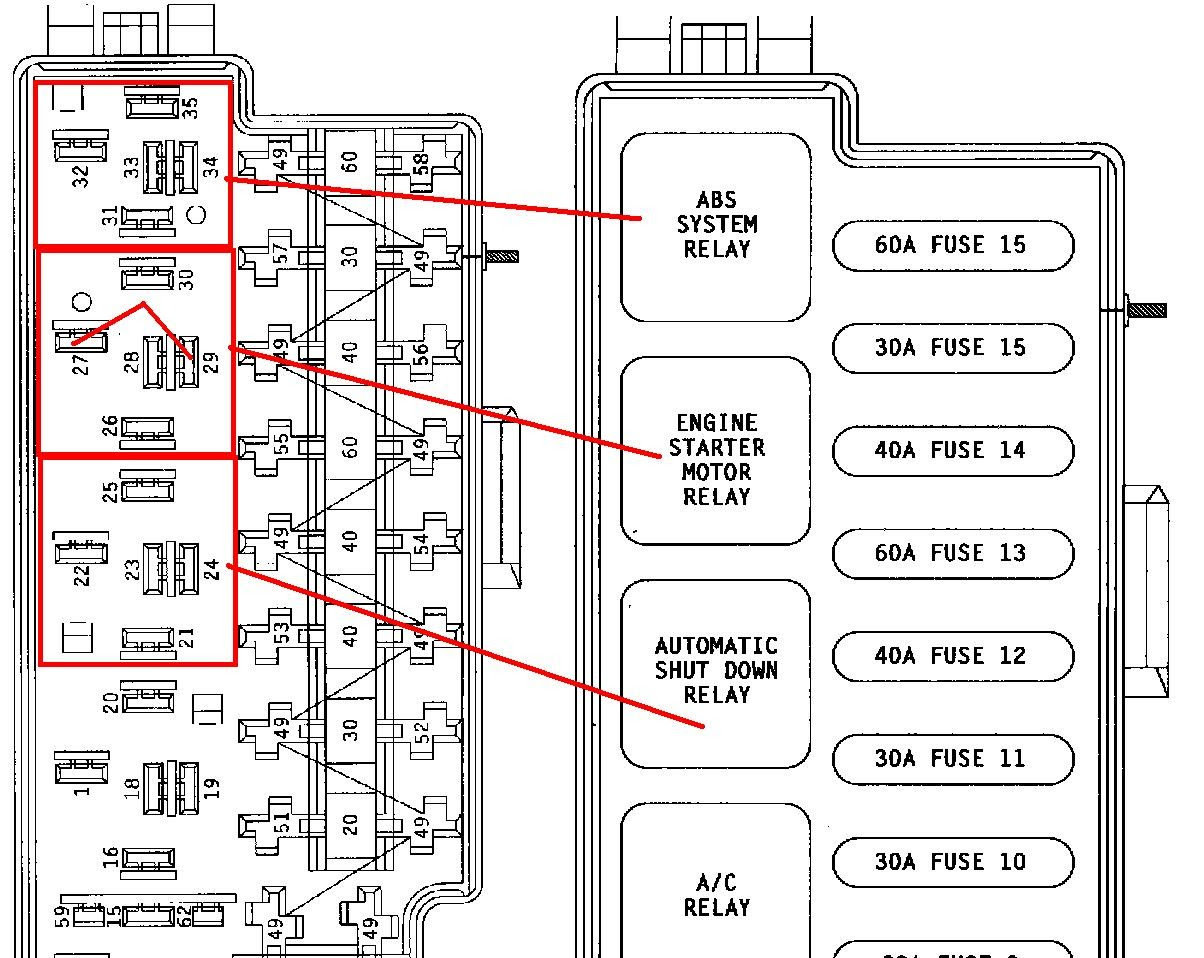 2002 Jeep Grand Cherokee Cooling Fan Schematic ...