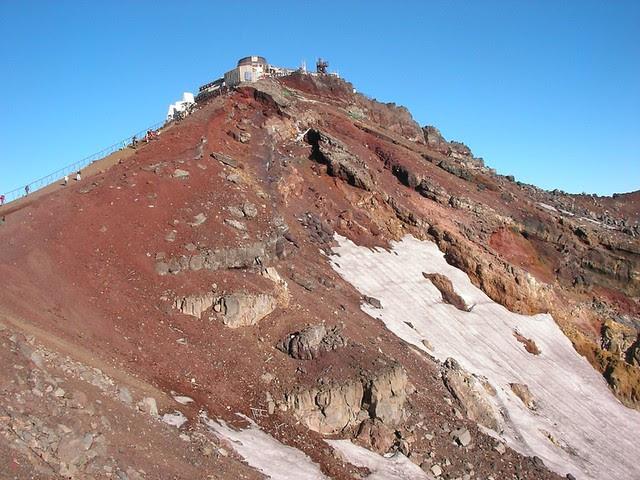 剣が峰・富士山測候所(富士山お鉢めぐり) Mt.Fuji Ohachi-meguri