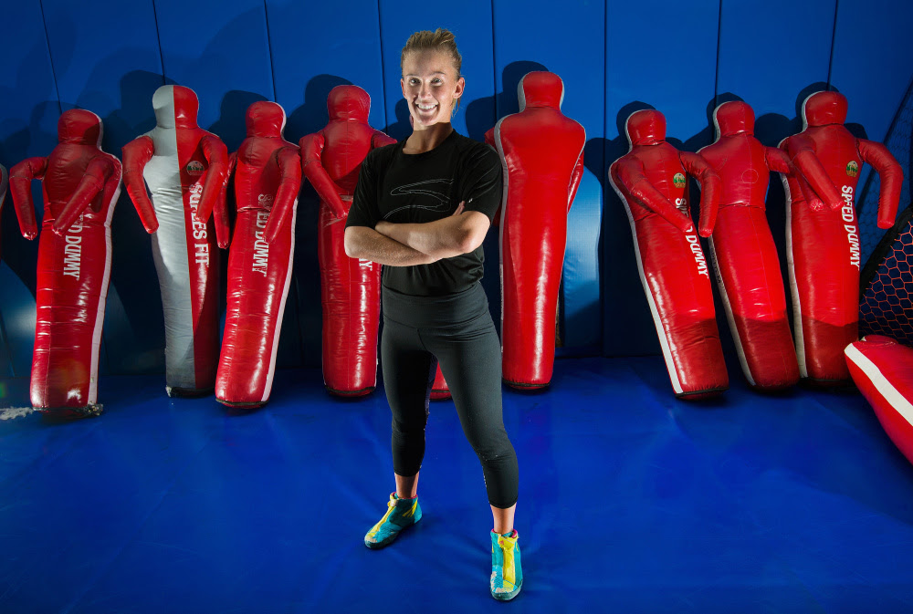 Former Marshwood High School wrestler Deanna Betterman, who's 28 now, married and the mother of two in Colorado Springs, Colo., will compete in trials this month for a spot on the U.S. Olympic women's wrestling team. The Summer Games will be held in Rio de Janeiro.