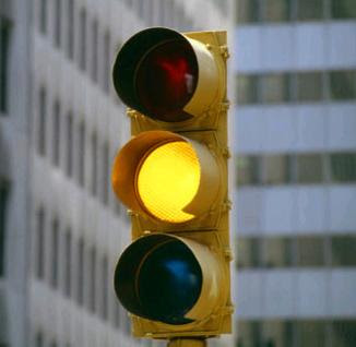 Image result for yellow light