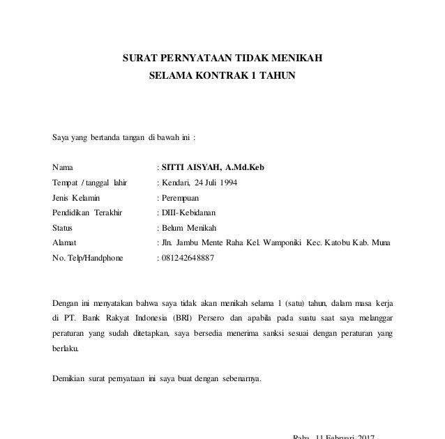 Contoh Surat Pernyataan Bersedia Kerja Shift Kumpulan