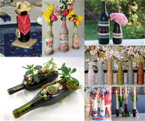 20  Creative Wine Bottle Centerpieces   Hative