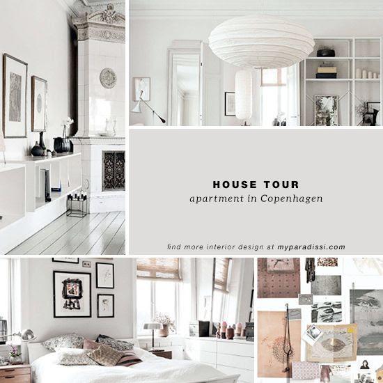 Serene neutral apartment in Copenhagen © Heidi Lerkenfeldt for Elle Decor UK