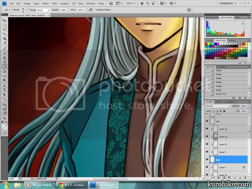 kurohiko work in progress 2012.12.14 - christmas art