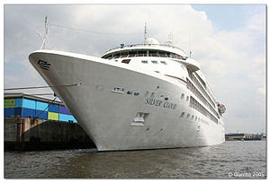 Silver Cloud: A cruise ship from silversea lin...