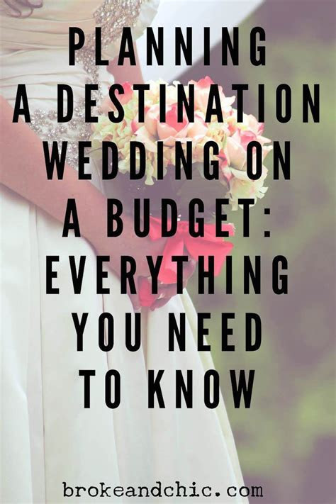 How to Plan A Destination Wedding on a Budget // www