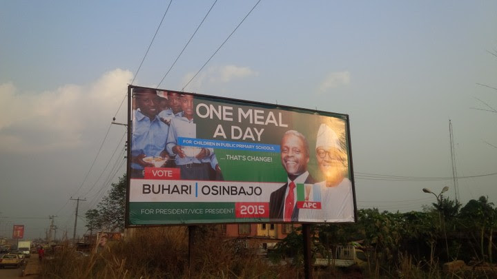 APC Yet To Pay For Campaign Billboards FOr 2015 Election: Advertising Companies