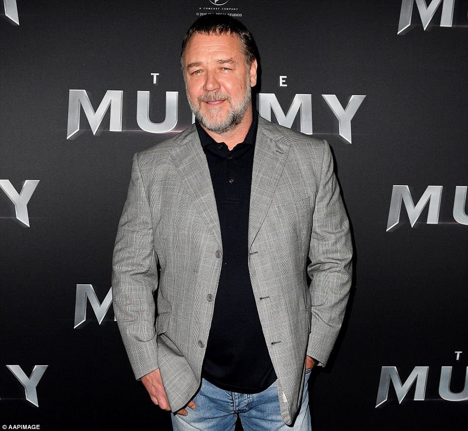 Image result for Russell Crowe 'Divorce' auction Sells tens of millions worth of movie Props