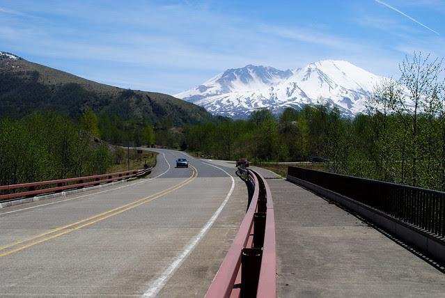 Hwy 504 to Johnston Ridge - Mt St Helens