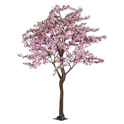 Full Size Faux Apple Blossom Tree Pink Accessories Taylor B Design