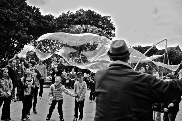 soap bubble man 8