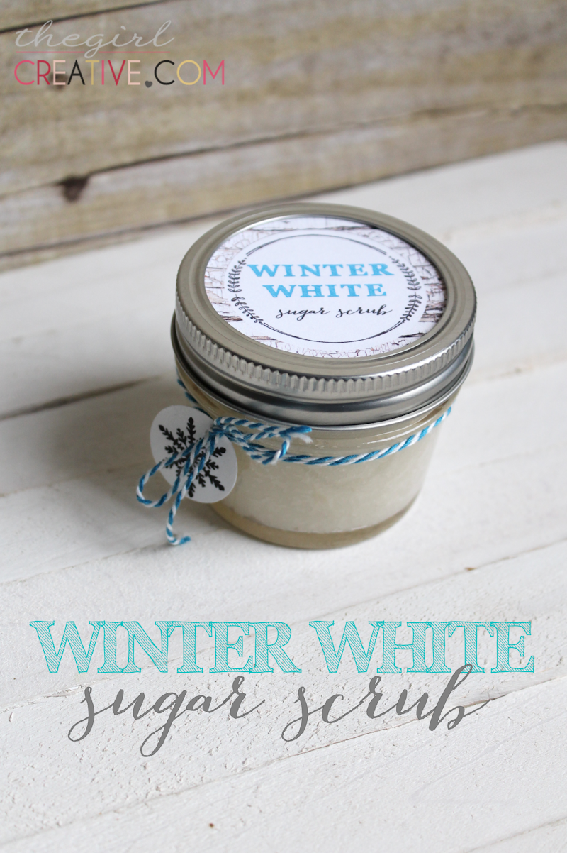 Winter White Sugar Scrub