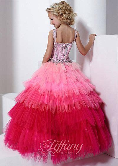 tiffany princess  girls pageant dress  french