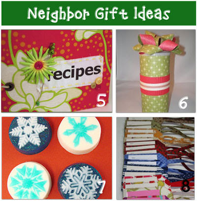 christmas Cheap Neighbor Christmas Gift Ideas {homemade}