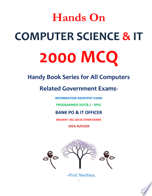 Download Hands On COMPUTER SCIENCE & IT 2000 MCQ TEST Pdf - Steve Nelson