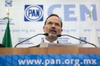 El presidente nacional del PAN, Gustavo Madero. Foto: Octavio Gómez